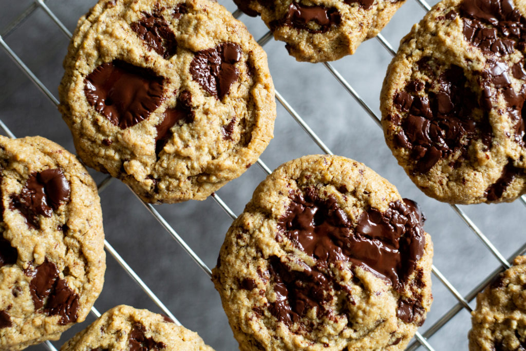 Chocolate Chip Cookies | 7 Vegan Snack Recipes When You Need Something On The Go