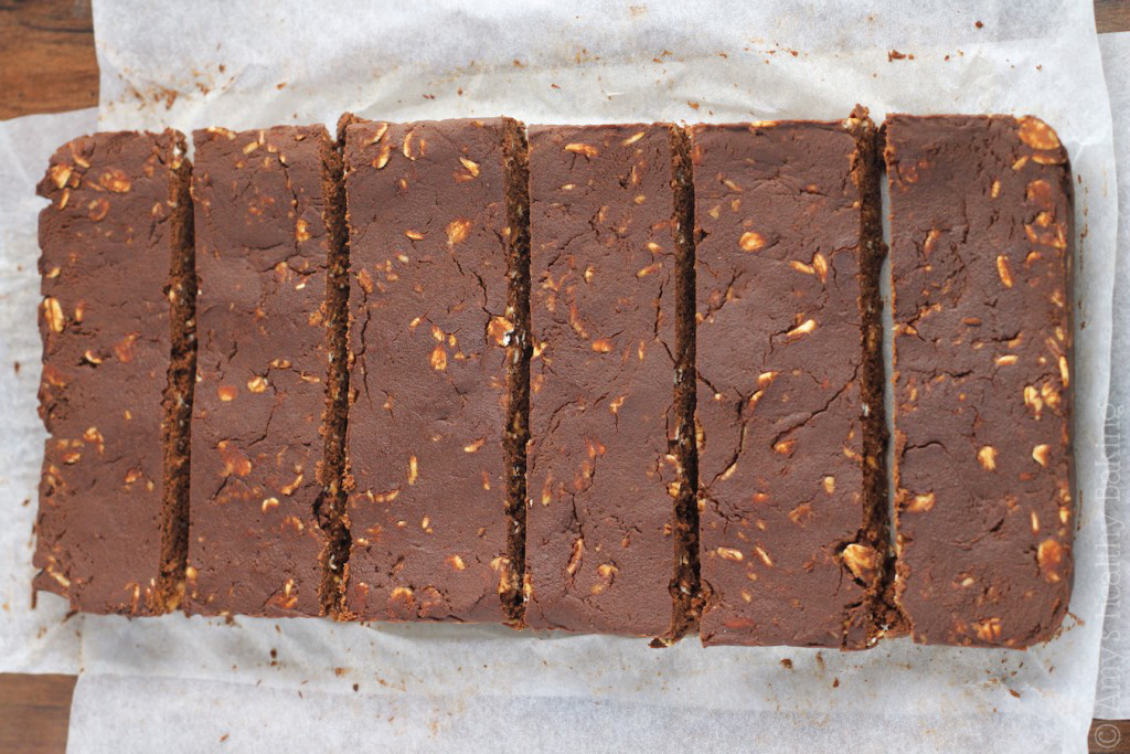 Mocha Brownie Protein Bars | 7 Vegan Snack Recipes When You Need Something On The Go